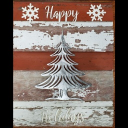 Holiday Sign -  Christmas Trees